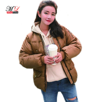 Maylina 2017 Winter Cotton Jacket Warm Color Bat Sleeve Leisure Women Jacket XL 5 High Quality