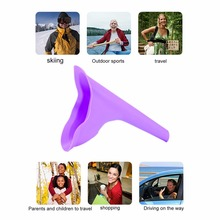 1pc Urination Toilet Urine Device Portable Female Women Urinal Camping Travel