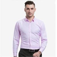 fashion men Shirt New style Mens Dress Shirt French custom Long Sleeve Shirt formal occasion wedding groom shirt