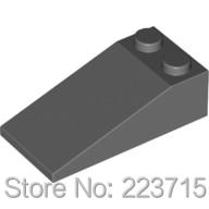 *Slope Brick 2x4x1*20pcs DIY Enlighten Block Brick Part No.30363, Compatible With Other Assembles Particles