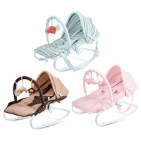Baby Rocking Chair Chaise Newborn Cradle Seat Coax Kids Artifact sleeping basket chaise lounge newborn with Adjustable Awning