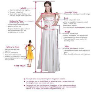 Image 4 - Luxo sereia rendas manga longa vestido de casamento 2019 praia sexy mergulho pescoço lantejoulas longo trem vestidos de noiva robe de mariage