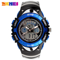 Fashion Kids Watches Sports 6 Colors Digital Rubber Children Watch Boy Waterproof 3Bar Gift Watches Student Stopwatch SKMEI 0998