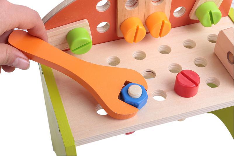 Бесплатная доставка! Игрушки для маленьких детей Деревянный Моделирование Игрушечные инструменты детские развивающие Игрушечные лошадки ...