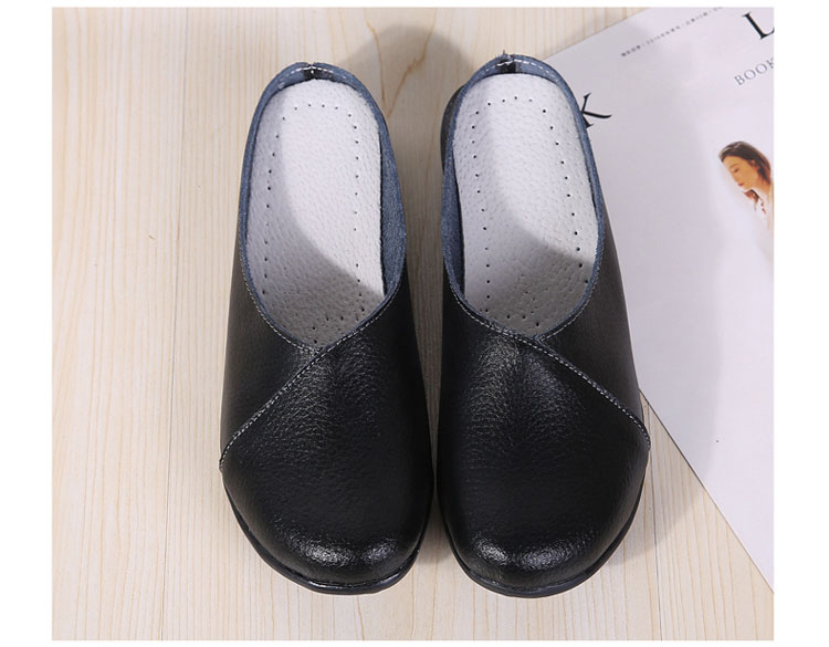 AH 9918-2018 New Women Flats Loafers Shoes-5