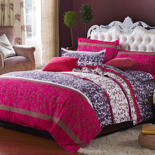 On Sale 4pcs Bedding Set Cotton Bedding Set King Size Bed Sets Sheets Queen Duvet Cover Linens