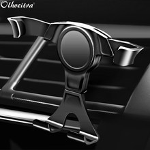 Olhveitra universel Auto-grip voiture support de téléphone voiture support pour téléphone évent pour iPhone X 7 8 Plus XS Max Samsung S10 téléfoon Houder