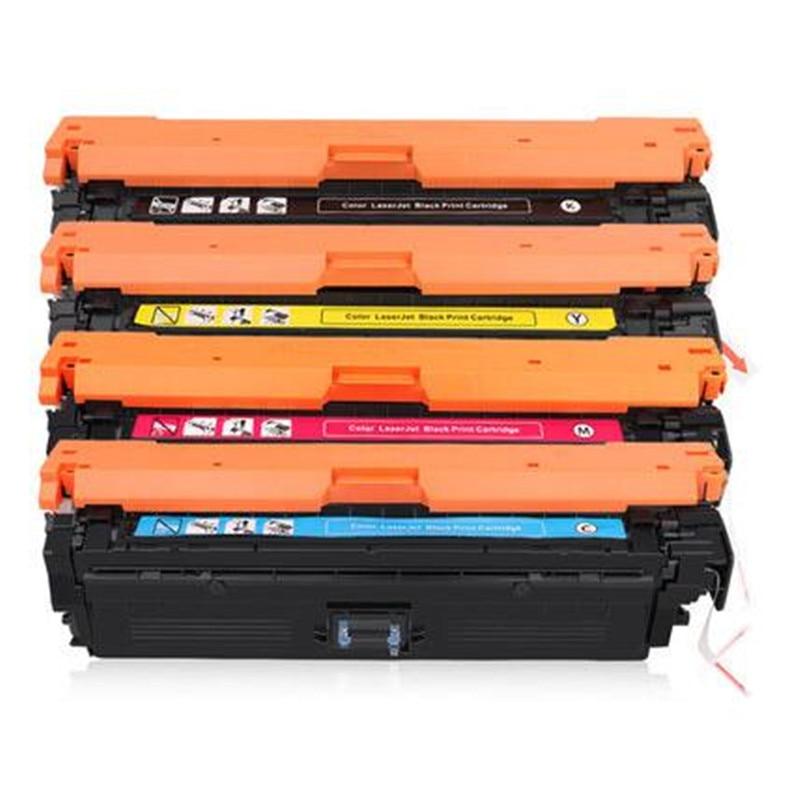 4-Color Toner Refill Kit for HP 508A M552 M552dn CF360A CF361A CF362A CF363A