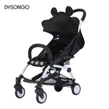 Original Lightweight Travel Baby Stroller Trolley Portable Folding Baby Stroller Car Baby Pram With 6 Accessory