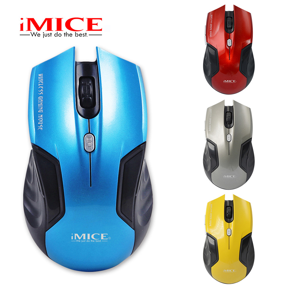 Wireless Mouse 6 Buttons USB 2.4G Optical Computer Cordless Mice For PC Laptop Desktop