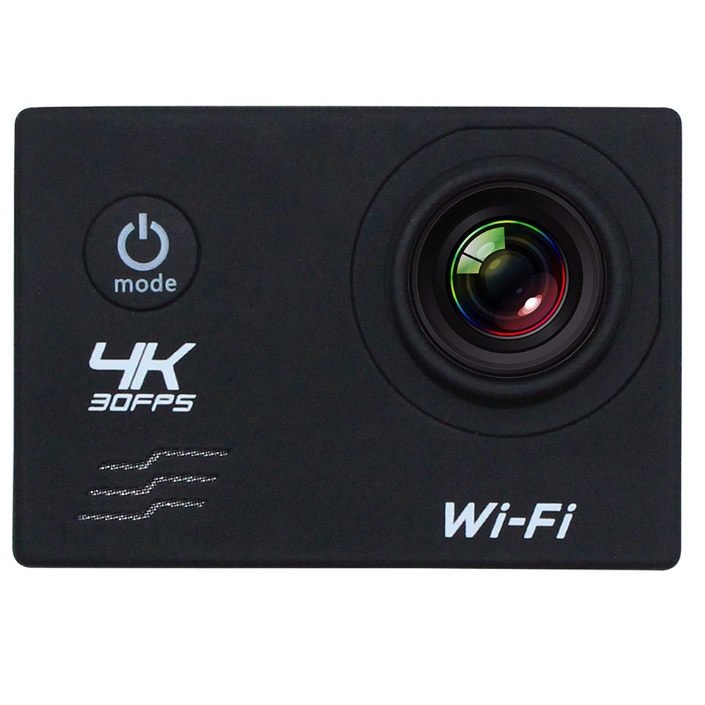 "RU Stock 4K Camera 2"" LCD Screen Wifi Action Camera 16MP 4X Zoom Sports Camera 170 Wide-angle Waterproof 30M with Remote Control"