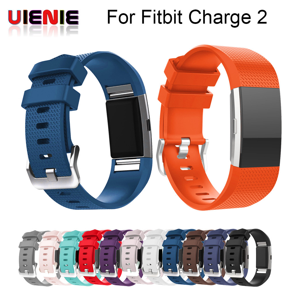 Hot-sale watchband Smart Watch Clock Smart Bands Replacement Men's Watch Sports Silicone Bracelet Strap Band For Fitbit Charge 2 купить в Москве 2019