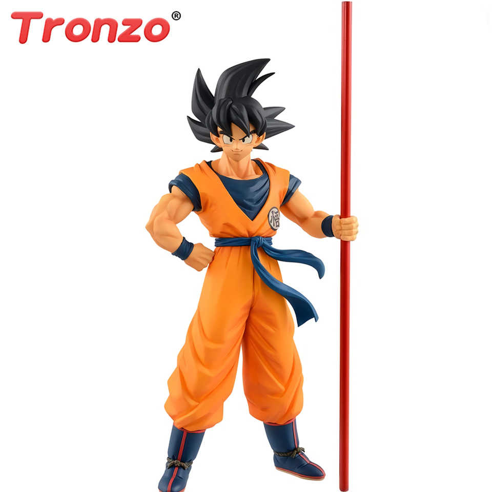 Tronzo Original Banpresto Dragon Ball Goku Action Figure Toys Filme Filme Dragon Ball Super O 20th Limitada Figura Modelo Brinquedos
