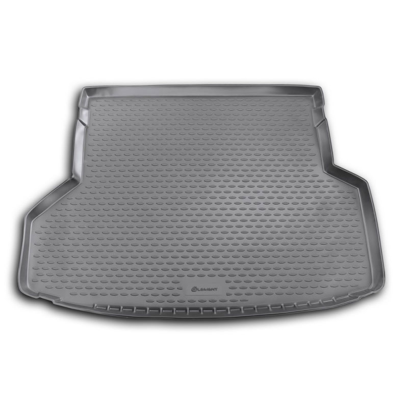 Mat rear trunk lid cover trim For TOYOTA Highlander 2012-2014 внед. 5/7 seats lengths. (polyurethane) mat trunk for toyota lc150 prado 2017 5 seats внед 1 pcs polyurethane