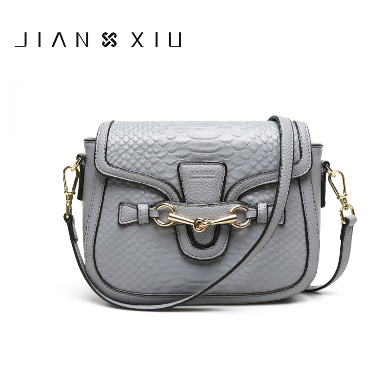 Women Genuine Leather Bags Shoulder Crossbody Messenger Bag Bolsas Bolsa Sac Femme Bolsos Mujer Crocodile Pattern 2017 Small Bag