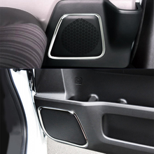 4pcs SUS304 Stainless Steel Interior Door Speaker Ring  Molding Trim Car Styling Cover Accessories For Honda Freed 2016+ 2ND Gen