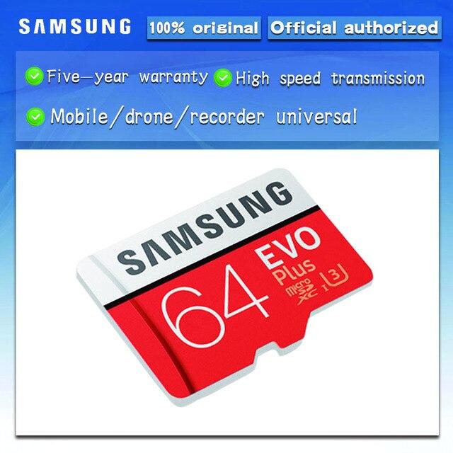 Sản phẩm mới Chính Hãng SAMSUNG EVO + Thẻ Nhớ 64 GB EVO Plus U3 128 GB 256 GB Class10 Micro SD 32 GB 16G MicroSD UHS-I Thẻ TF