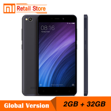 "Global Version Xiaomi Redmi 4A 2GB RAM 32GB ROM Cellphone Snapdragon 425 Quad Core 5.0"" 1280x720p 3120mAh 13.0 MP Band B4 B20"
