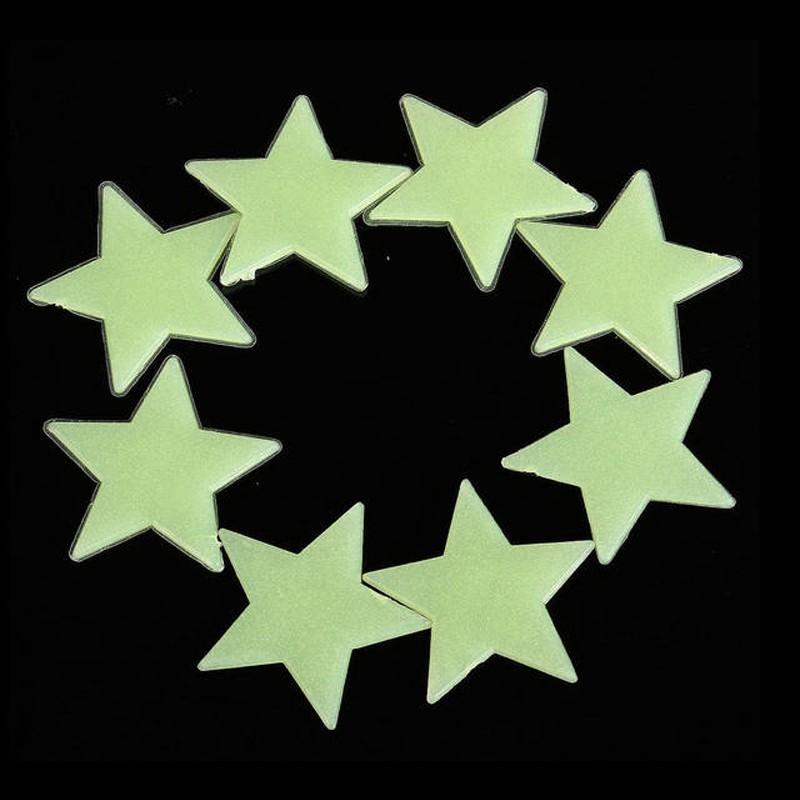 HTB1dDLHOXXXXXXfXXXXq6xXFXXX1 - * 100 pcs. 3D stars glow in the dark Luminous on Wall Stickers for Kids Room living room  Wall Decal Home Decoration poster