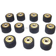 10 Pcs 3 Mm X 11 Mm X 16 Mm Mencubit Rol Vinyl Plotter Cutting Engraving Mesin Pencetak Bagian feed Wheel Cutting Plotter(China)