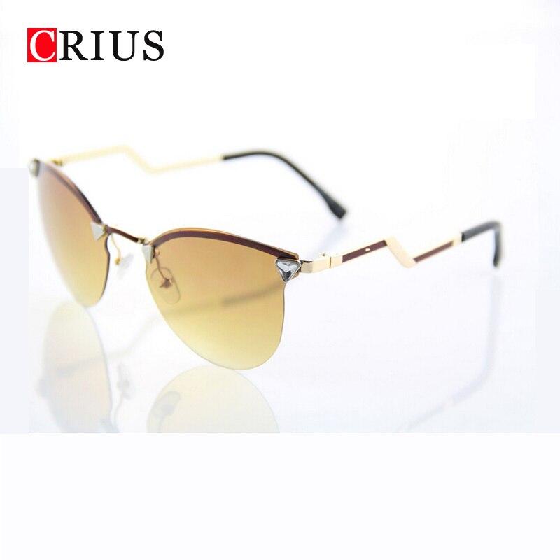 new fashion flechas gafas de sol de colores espejo sin marco gafas de sol de las