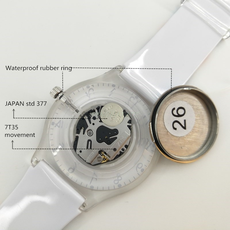 WILLIS merk klassieke quartz horloge mode vrouwen vrijetijdshorloge - Dameshorloges - Foto 6