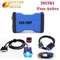 2015. R1 TCS CDP плюс новый VCI tcs cdp pro без bluetooth с LED поддержка 2015 год автомобилей tcs cdp 3 в 1 диагностический инструмент