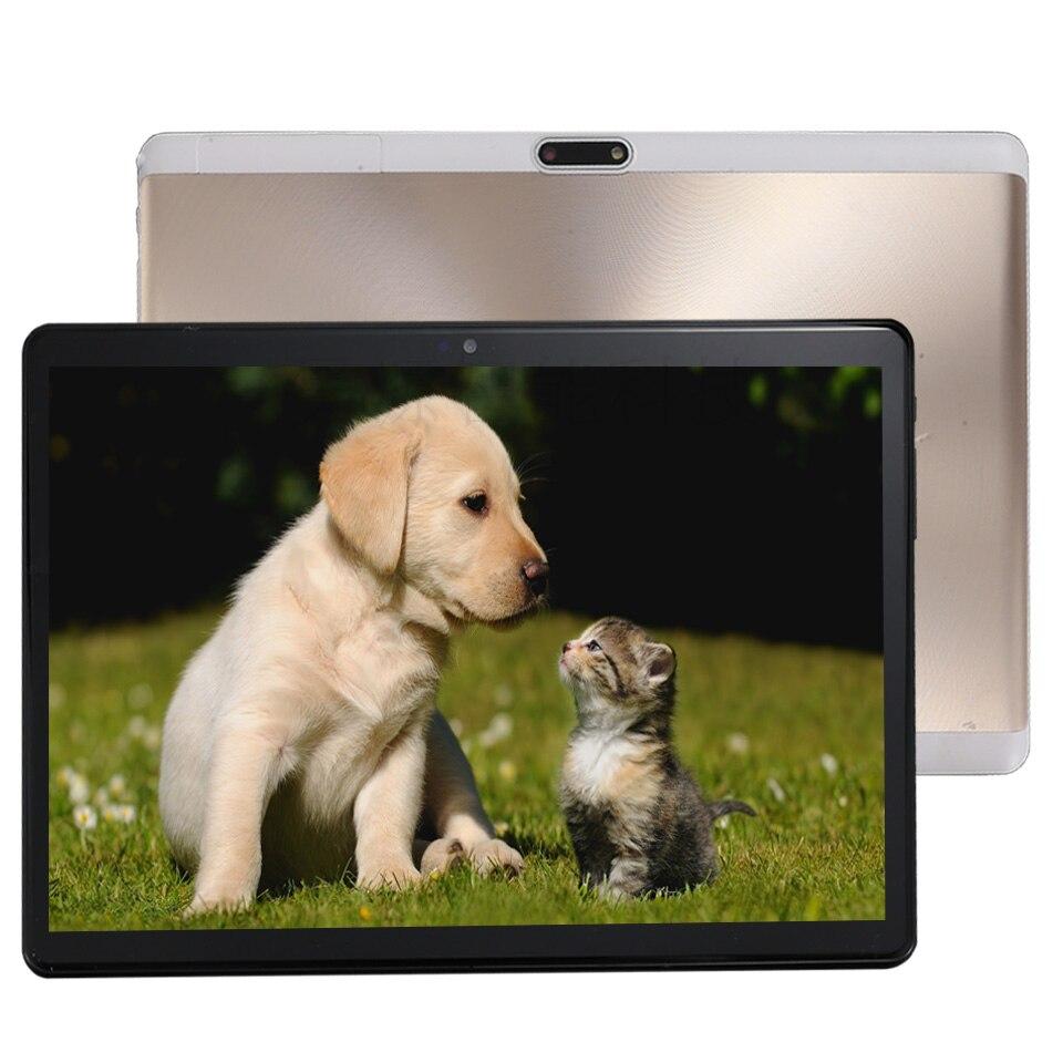 Super Trempé 2.5D Verre 4g LTE 10 pouce tablet pc Android 7.0 Octa Core 4 + 64 gb ROM 8 noyaux 1920*1200 IPS Écran Comprimés 10.1
