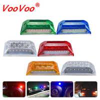 Luces LED de señalización para camión, luz LED de 24V CC, indicadores de intermitente para camión, luz antiniebla trasera DRL, rojo, azul, RGB, Verde