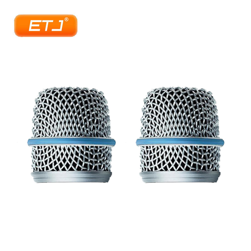 2 Pcs Grille Ball For BETA 57A Karaoke Microphones Free Shipping BETA57A Grille