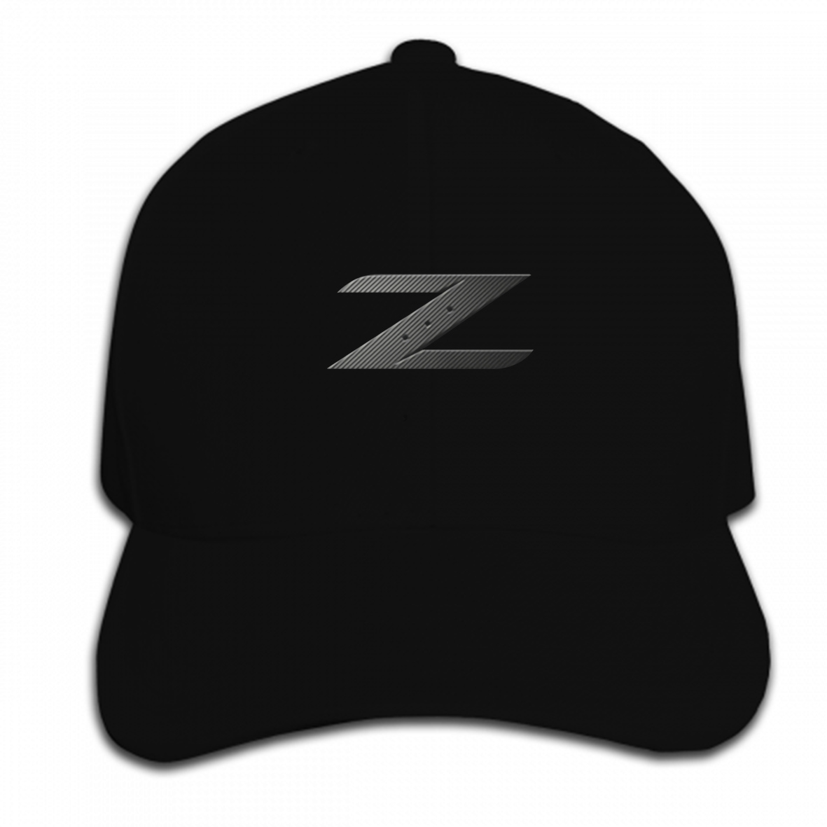 Print Custom Baseball Cap Nissan 350z Z EmblemMens  Black Hat Peaked cap