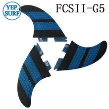 FCSII K2.1 Fins, Orange Fibreglass Honeycomb Fin SUP Board FC2 Fins аксессуар bosch gwa fc2 1600a001sk
