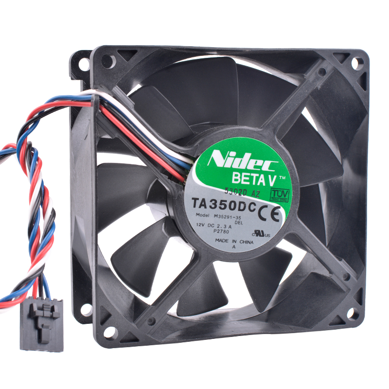 COOLING REVOLUTION M35291-35 9038 12V 2.3A 4-wire 5pin GX280 Dimension 4700 double ball bearing air volume server cooling fan