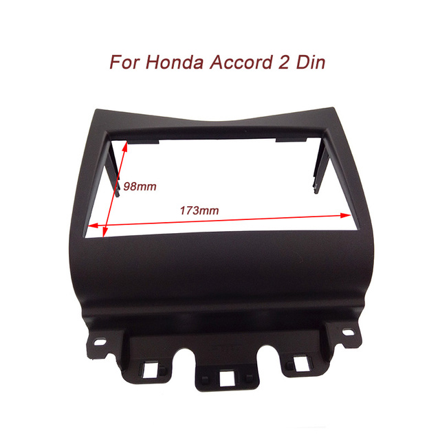Top qualidade 2 Din Fascia para Honda Accord 2002-2007 Rádio DVD Painel CD Stereo Traço Instale Guarnição Kit De Montagem Enfrentar quadro