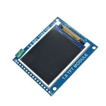 Smart Elektronik 1,8 Zoll 128*160 Serial SPI TFT LCD Modul Display + PCB Adapter Power IC SD Buchse für Arduino 1,8 ''128x160