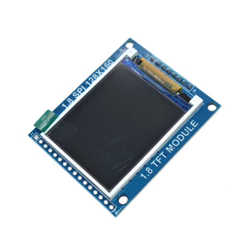 Smart Electronics 1.8 Inch 128*160 Serial SPI TFT LCD Module Display + PCB Adapter Power IC SD Socket for Arduino 1.8'' 128x160 image