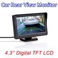 4.3-дюймовый цветной TFT ЖК-монитор дисплей стоянка для Автомобилей заднего вида резервного копирования 4.3 ''видео PAL/NTSC БЕСПЛАТНАЯ ДОСТАВКА