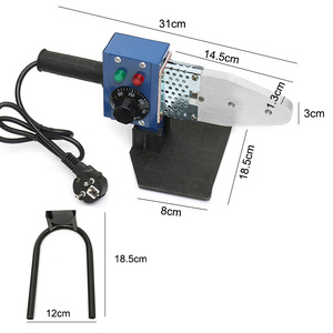 Image 5 - 800 ワット 1000 ワット 220v電気ホット溶接機加熱ツールppr pe ppチューブパイプ溶接機