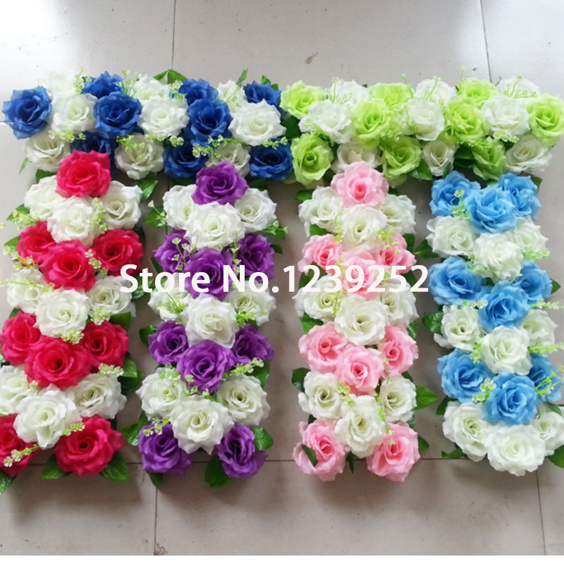 New wedding flower wall stage backdrop decorative New flower decoration
