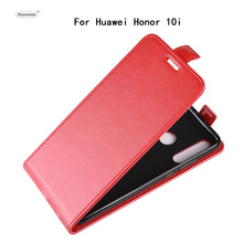HUDOSSEN For Huawei Honor 10i HRY-LX1T Case Luxury PU Leather Back Cover For Huawei Honor 10i Phone Case Flip Protective Bag for huawei honor 20i honor 10i case cover nillkin pu leather flip case for huawei honor 20i honor 10i cover flip phone case