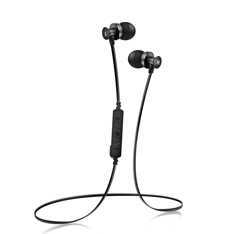 Wireless Bluetooth Earphones Sports Running Headset Sweatproof Earphones In-ear Earbuds Music with HD Microphone for samrtphone coulax bluetooth headphones sports wireless headset ipx7 waterproof earbuds in ear earphones with mic sweatproof headphone cx36