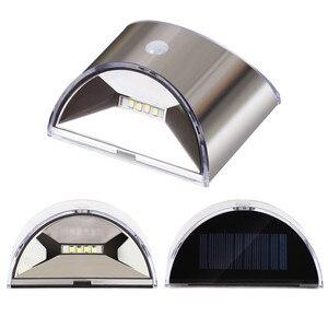 Image 4 - Solar Verlichting Outdoor Motion Sensor Nacht Beveiliging Wandlamp Led Waterdichte Energiebesparende Tuin Voordeur Yard Dropshipping
