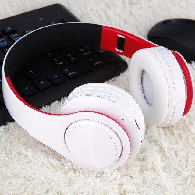 Bluetooth Headphone With Microphone Low Bass earphones 6