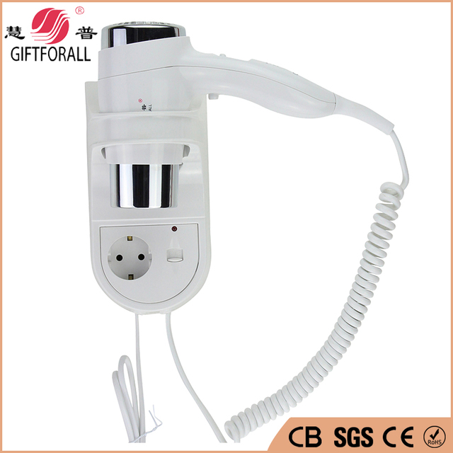 Wall-Mounted Hairdryer Hotel Electric Hot/cold Air Less noise Blow Dryer Salon Professional Hairdryers