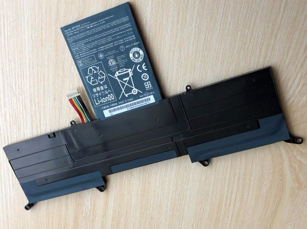 AP11D3F AP11D4F Laptop Battery For Acer Aspire S3 S3-951 S3-391 MS2346 S3-391-6407 S3-951-6828 S3-391-9695 one head rotary belgian waffle maker machine for commercial restaurant machinery wholesale