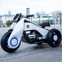 Children's electric car Four wheeled electric motor tricycle Hurricane travel 6199 traveling with your baby