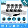 Cctv 8ch 960h AHD Dvr Video Recorder Security 700TVL IR Indoor Camera System Kit System HD