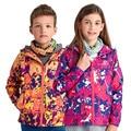 Новый 2017 Весна Зимний Спорт Вниз Windstopper Теплое Пальто Ребенок Мужского Пола Brand Design детская Одежда Открытый Детские Куртки Парки