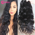 8A Indian Virgin Hair Body Wave Health Without Chemical Processing Unprocessed Human Hair Extension Fast Delivery Hair Weaves