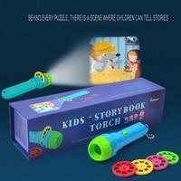 Aitesen Children's Classic Story Projector Toys Luminous Toys Baby Lighting Flashlight Toys Toddler Toys Girls Boys